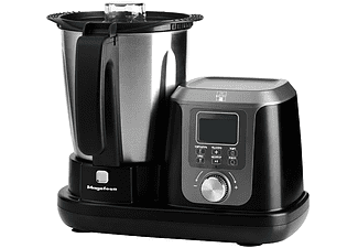 Robot de cocina - Magefesa Magchef MGF4550, Multifunción, 3.30 L, 10 funciones, 1200W, Negro