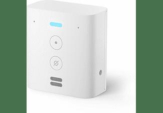Enchufe inteligente - Amazon Echo Flex, Controlador por voz del hogar con Alexa, WiFi, Blanco