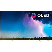 PHILIPS 55OLED754/12 OLED TV (Flat, 55 Zoll/139 cm, OLED 4K, SMART TV, Ambilight, Saphi)