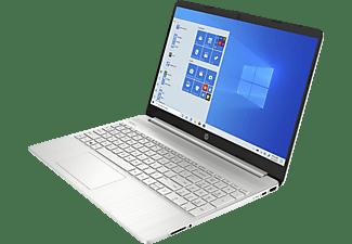 HP 15s-eq0375ng, Notebook mit 15,6 Zoll Display, Ryzen™ 7 Prozessor, 8 GB RAM, 512 GB SSD, Radeon RX Vega 10, Silber