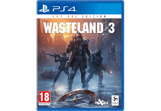 Wasteland 3 Day One Edition NL/FR PS4