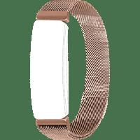 TOPP Mesh, Ersatz-/Wechselarmband, Fitbit, Roségold