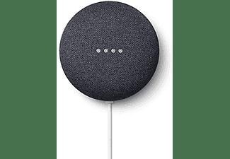 Altavoz inteligente -  Google Nest Mini, 2ª generación, Negro