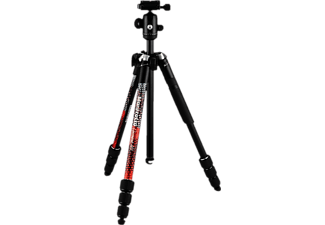 MANFROTTO Element MII Traveler - Stativ (Noir/Rouge)