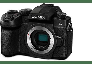 Cámara EVIL - Panasonic Lumix DC-G90EC, Cuerpo, Live MOS de 20.3Mpx, Negro