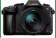 Cámara EVIL - Panasonic Lumix DMC-G80HA, 16 MP, Estabilizador óptico 5 ejes, Vídeo 4K, WiFi, Negro