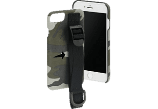 HAMA Camouflage Strap, Backcover, Apple, iPhone 6/6s/7/8, Grün/Schwarz