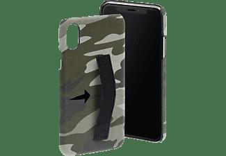 HAMA Camouflage Loop, Backcover, Apple, iPhone X/Xs, Grün/Schwarz