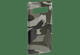 HAMA Camouflage, Backcover, Samsung, Galaxy S10, Grün/Schwarz