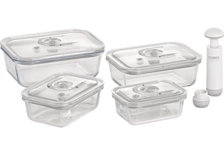 CASO 1197 VacuBoxx E Vakuumbehälter-Set Transparent