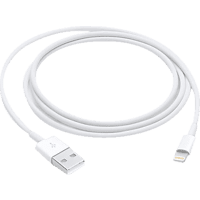 APPLE MXLY2ZM/A LIGHTNING TO USB CABLE 1.0M, Ladekabel, 1 m, Weiß