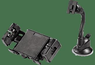 HAMA Kit Big 2-in-1 Long, Navihalterung, passend für Navigationssystem, Schwarz