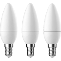 OK. OKLED-E14-5.8W 3erPack LED Leuchtmittel E14 Warmweiß 6 Watt 470 Lumen
