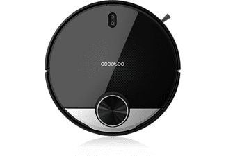 Robot aspirador - Cecotec Conga 3290 Titanium, Wi-Fi, App, Programable, 64 dB, Negro