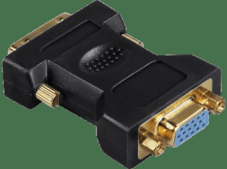 HAMA DVI-Stecker VGA-Kupplung, Adapter