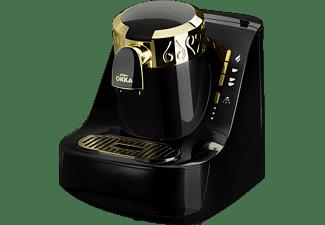 ARZUM OK008-B Mokka-Maschine Schwarz/Gold