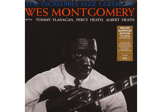 Wes Montgomery - The Incredible Jazz Guitar Of Wes Montgomery (180 gram Edition) (Gatefold) (Vinyl LP (nagylemez))