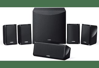 Home Cinema 5.1 - Yamaha NS-P41, Sistema 5.1, 6 altavoces, 100 W, Negro