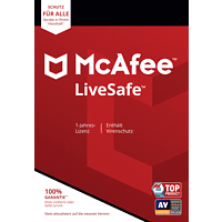 McAfee LiveSafe (Code in a Box) - [Multiplatform]