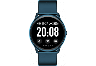 Smartwatch XPLORA Activity, Bluetooth, Resistente al agua, Azul