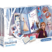 CLEMENTONI Frozen 2 - Traum-Tagebuch Kindertagebuch, blau