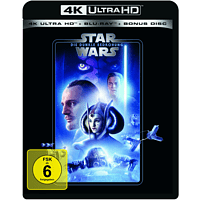 Star Wars: Episode I - Die dunkle Bedrohung [4K Ultra HD Blu-ray + Blu-ray]