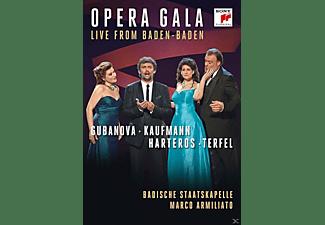 Ekaterina Gubanova, Jonas Kaufmann, Anja Harteros, Bryn Terfel, Badische Staatskapelle - Baden-Baden Gala  - (DVD)