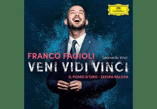 Franco Fagioli, Zefira Valova, Il Pomo D'Oro - Veni, Vidi, Vinci  - (CD)