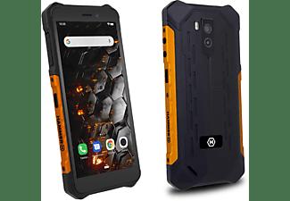 """Móvil - Hammer Iron 3, 5.5"""" HD, 1GB RAM, 16 GB, MTK6580, 8+5 MP, IP68, 4400 mah, Android, Naranja"""