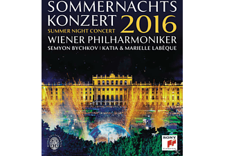 Semyon Bychkov, Wiener Philharmoniker, Labeque Katia & Marielle - Sommernachtskonzert 2016  - (Blu-ray)