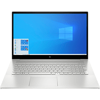 HP ENVY 17-cg0305ng, Notebook mit 17,3 Zoll Display, Core™ i5 Prozessor, 16 GB RAM, 512 GB SSD, GeForce MX330, Silber
