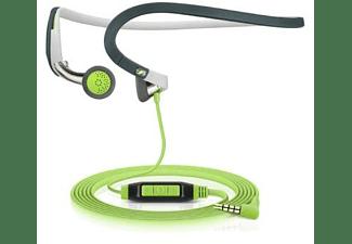 Auriculares deportivos - Sennheiser PMX 686G, Botón con cable, 3.5 mm, 1.2 m, Negro y verde