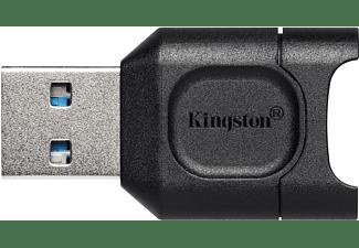 KINGSTON MobileLite Plus microSD-Lesegerät, UHS-II, USB 3.2 Gen1, Schwarz