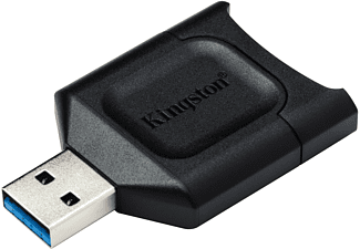 KINGSTON MobileLite Plus SD-Lesegerät, UHS-II, USB 3.2 Gen1, Schwarz