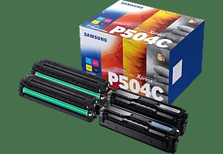 SAMSUNG CLT-P504C Multipack Original Toner Schwarz/Cyan/Magenta/Gelb (CLT-P504C/ELS)