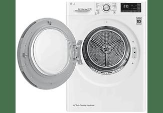 Secadora - LG RC80U2AV4D.ABWQKES, 8Kg, 14 Programas, 62 dB, Blanco