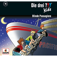 Die Drei ??? Kids - Die drei ??? Kids (76): Blinde Passagiere - [CD]