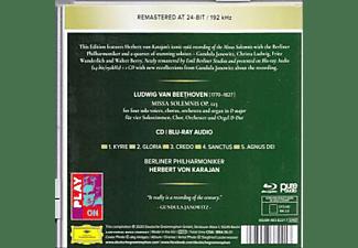 Herbert von Karajan, Berliner Philharmoniker - Beethoven: Missa Solemnis, Op. 123  - (CD + Blu-ray Audio)