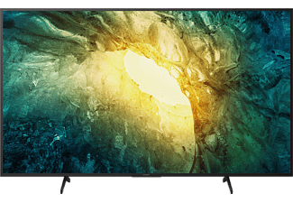 SONY KD-49X7055 LED TV (Flat, 49 Zoll / 123 cm, UHD 4K, SMART TV, Linux)
