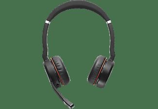 JABRA Evolve 75 Stereo UC inkl. Link 370 Headset Schwarz