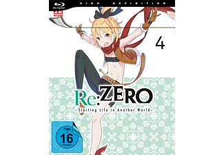 re:ZERO - Starting Life in Another World - Vol. 4 - Ep. 16-20 Blu-ray