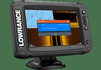 LOWRANCE Elite-7 TI2 ohne Schwinger Angeln, Schifffahrt