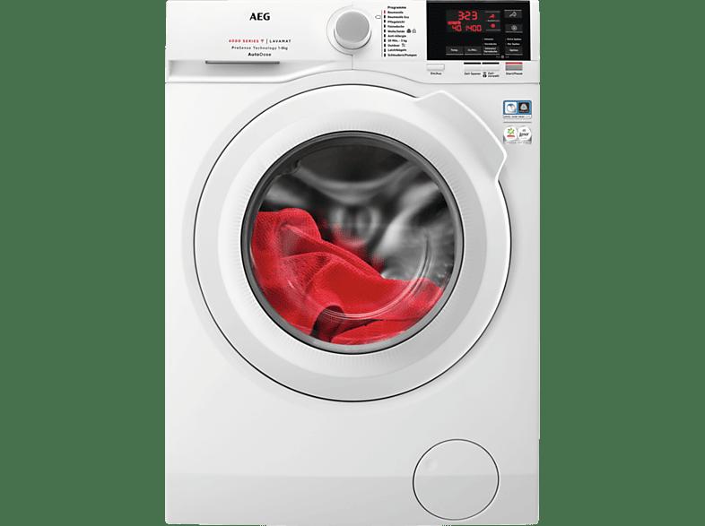 AEG L6FB68480 Waschmaschine 8 kg, 1400 U Min., C
