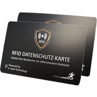 MAKAKAONTHERUN Doppelpack RFID NFC Blocker-Karte