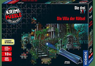 KOSMOS Krimipuzzle Die drei ??? 300 Teile / Die Villa der Rätsel Spiel Mehrfarbig