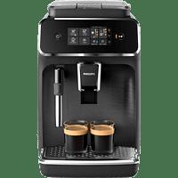 PHILIPS Serie 2200 Kaffeevollautomat EP2220/40 mit Metall-Abtropfschale, matt schwarz