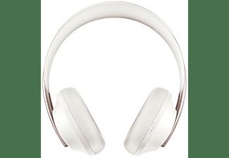 Auriculares inalámbricos - Bose 700 Soapstone, Bluetooth, Cancelación de ruido, 20h Autonomía, Blanco