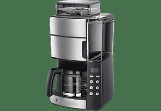RUSSELL HOBBS 25610-56 Grind & Brew Digitale Kaffeemaschine Silber/Grau