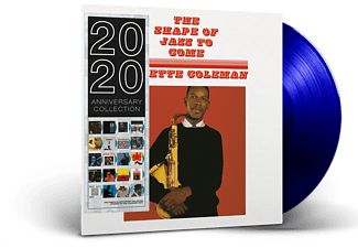 Ornette Coleman - The Shape Of Jazz To Come (Blue Vinyl) (Vinyl LP (nagylemez))