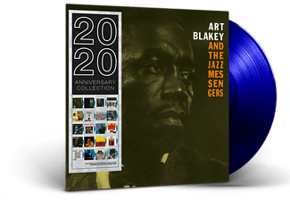 Art Blakey & The Jazz Messengers - Art Blakey & The Jazz Messengers (Blue Vinyl) (Vinyl LP (nagylemez))